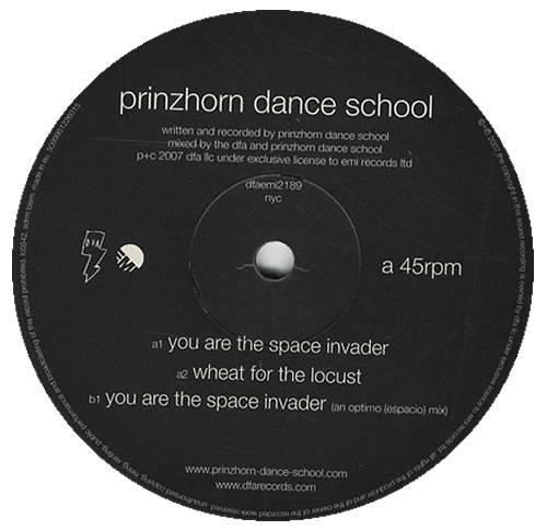 "Prinzhorn Dance School You Are The Space Invader 12"" vinyl single (12 inch record / Maxi-single) UK PDZ12YO429305"