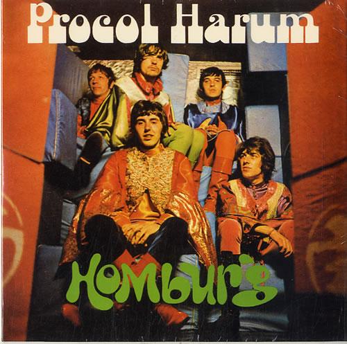 "Procol Harum Homburg - RSD15 7"" vinyl single (7 inch record) UK PRH07HO632864"