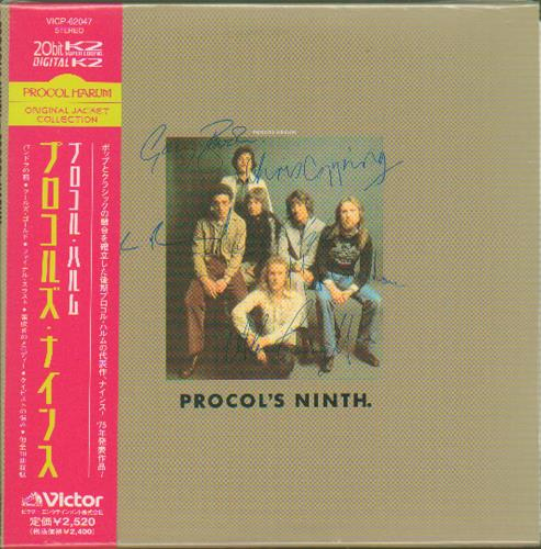 Procol Harum Procol's Ninth CD album (CDLP) Japanese PRHCDPR668261
