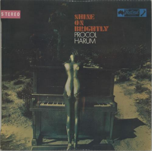 Procol Harum Shine On Brightly vinyl LP album (LP record) New Zealand PRHLPSH612102