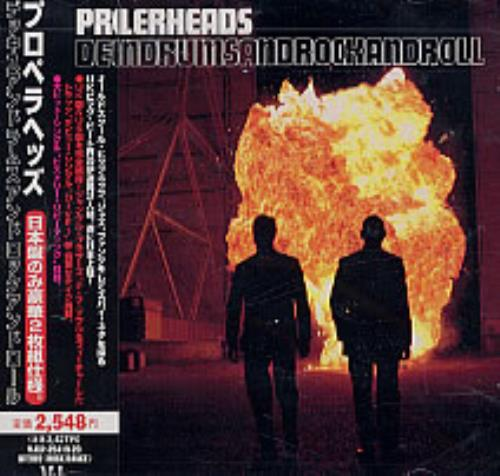 Propellerheads Decksandrumsandrockandroll 2 CD album set (Double CD) Japanese P-H2CDE168625