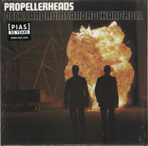 Propellerheads Decksandrumsandrockandroll 2-LP vinyl record set (Double Album) UK P-H2LDE725251