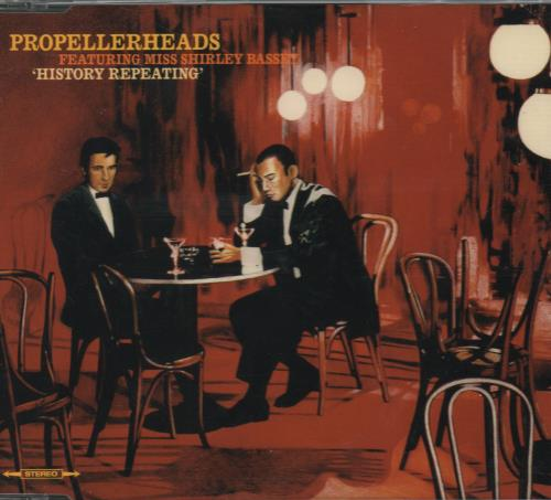 "Propellerheads History Repeating CD single (CD5 / 5"") UK P-HC5HI162564"