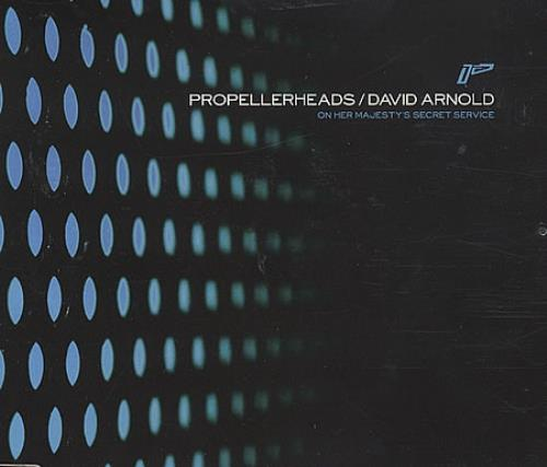 "Propellerheads On Her Majesty's Secret Service CD single (CD5 / 5"") UK P-HC5ON193694"