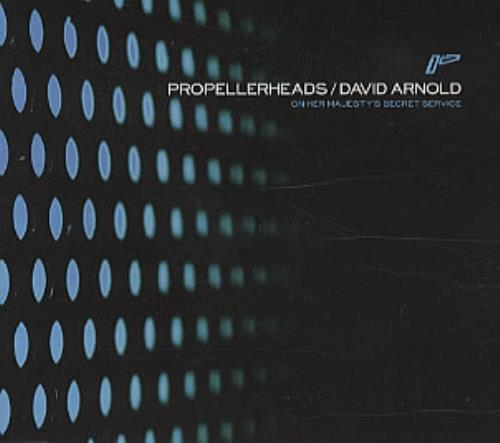 "Propellerheads On Her Majesty's Secret Service CD single (CD5 / 5"") German P-HC5ON311668"