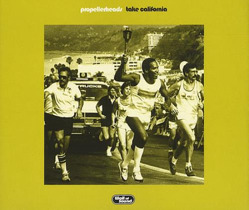 "Propellerheads Take California CD single (CD5 / 5"") UK P-HC5TA390979"