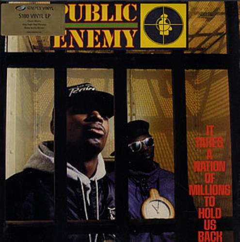 Public Enemy It Takes A Nation Of Millions To Hold Us Back vinyl LP album (LP record) UK PUBLPIT352045