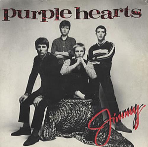 "Purple Hearts Jimmy 7"" vinyl single (7 inch record) UK PUH07JI318917"