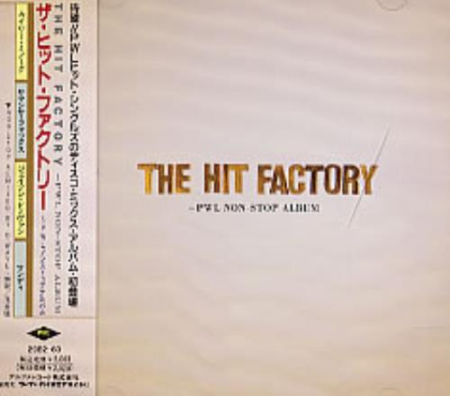 PWL The Hit Factory + Obi CD album (CDLP) Japanese PWVCDTH234134