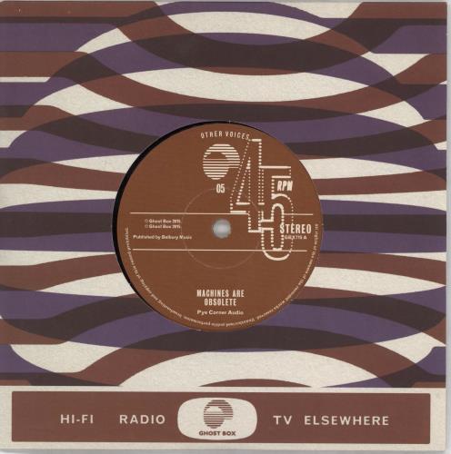 "Pye Corner Audio Other Voices 05 7"" vinyl single (7 inch record) UK 3Y207OT766403"