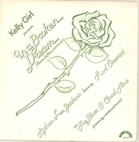 "Python Lee Jackson In A Broken Dream 7"" vinyl single (7 inch record) UK PLJ07IN300882"