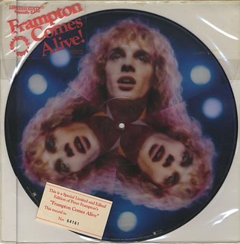 Peter Frampton Frampton Comes Alive! picture disc LP (vinyl picture disc album) US PFRPDFR105164
