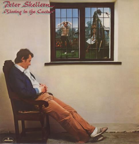 Peter Skellern Kissing In The Cactus vinyl LP album (LP record) UK RSKLPKI394886