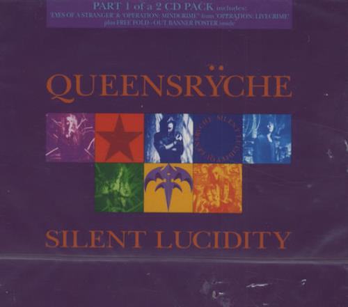 """Queensryche Silent Lucidity - Part 1 CD single (CD5 / 5"""") UK QRYC5SI39634"""