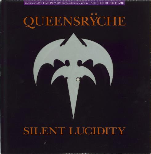 Queensryche Silent Lucidity Uk 12 Quot Vinyl Picture Disc