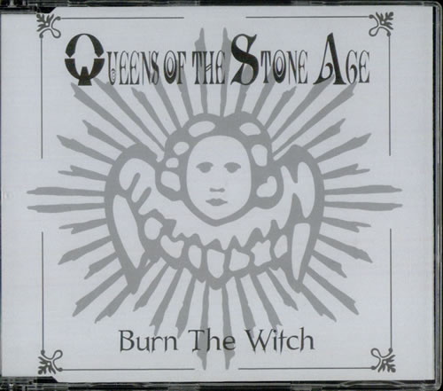 """Queens Of The Stone Age Burn The Witch CD single (CD5 / 5"""") UK QOSC5BU536422"""