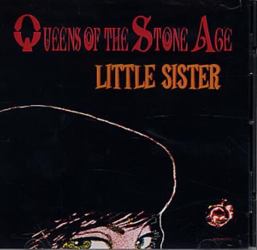 "Queens Of The Stone Age Little Sister CD single (CD5 / 5"") US QOSC5LI318852"