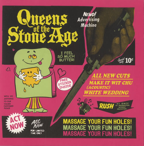 """Queens Of The Stone Age Make It Wit Chu 7"""" vinyl single (7 inch record) UK QOS07MA568705"""