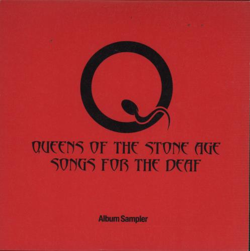 """Queens Of The Stone Age Songs For The Deaf CD single (CD5 / 5"""") UK QOSC5SO222979"""