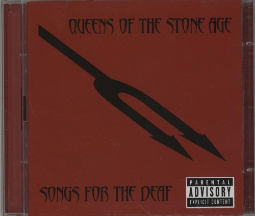 Queens Of The Stone Age Songs For The Deaf 2-disc CD/DVD set UK QOS2DSO378034
