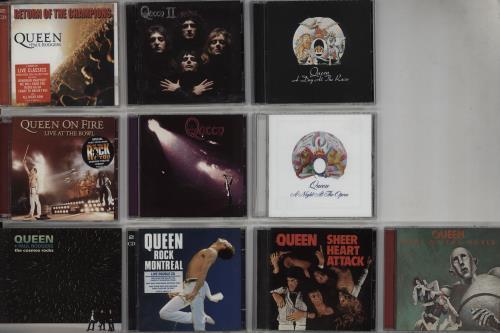 Queen 14 Disc Collection CD album (CDLP) UK QUECDDI752460