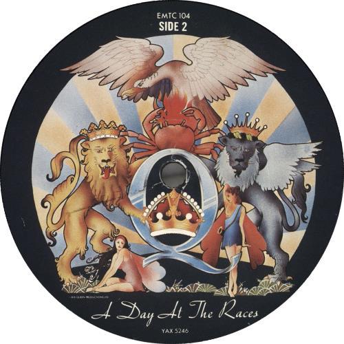 Queen A Day At The Races - 2nd - EX vinyl LP album (LP record) UK QUELPAD186399