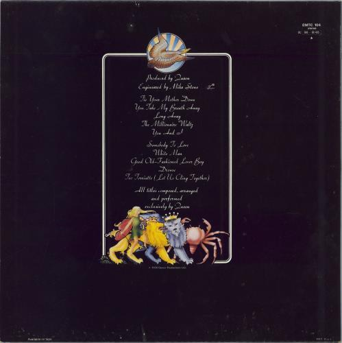 Queen A Day At The Races - 3rd - Price Attack Stickered vinyl LP album (LP record) UK QUELPAD769685