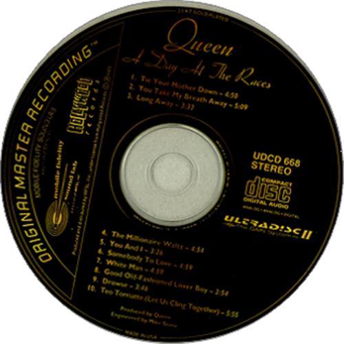 Queen A Day At The Races CD album (CDLP) US QUECDAD424775