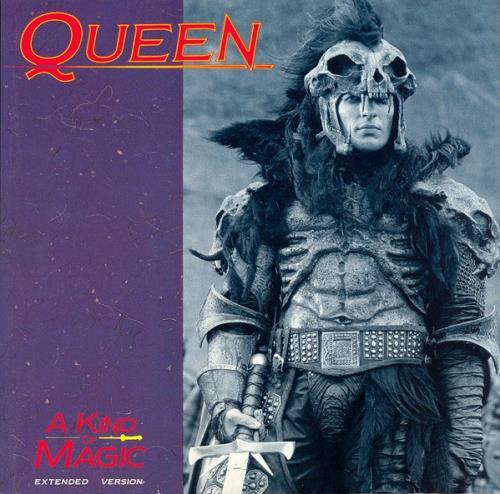 "Queen A Kind Of Magic + p/s 12"" vinyl single (12 inch record / Maxi-single) UK QUE12AK51097"