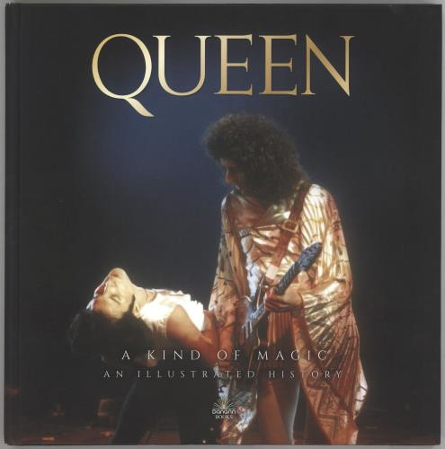 Queen A Kind Of Magic - An Illustrated History book UK QUEBKAK730324