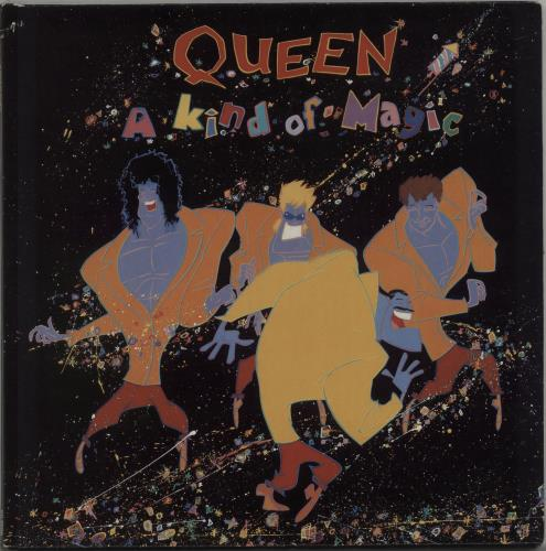 Queen A Kind Of Magic - EX vinyl LP album (LP record) UK QUELPAK568597