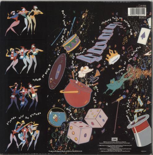 Queen A Kind Of Magic - VG vinyl LP album (LP record) UK QUELPAK730692