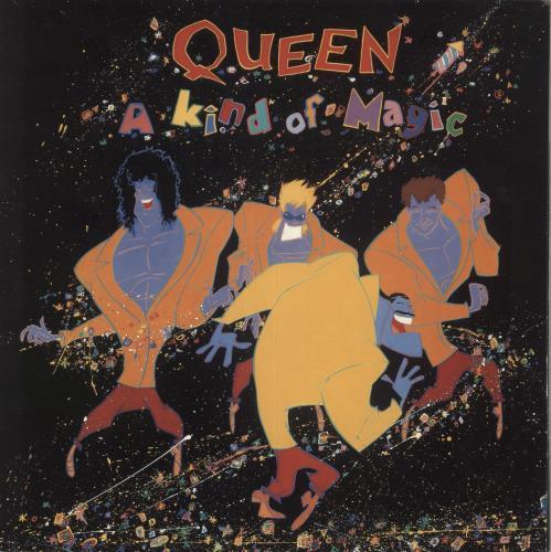 Queen A Kind Of Magic vinyl LP album (LP record) UK QUELPAK214459