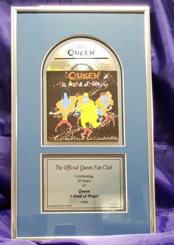 Queen A Kind Of Magic memorabilia UK QUEMMAK396626