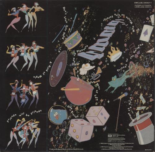 Queen A Kind Of Magic vinyl LP album (LP record) South African QUELPAK753800