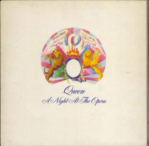 Queen A Night At The Opera - 1st - EX vinyl LP album (LP record) UK QUELPAN355665