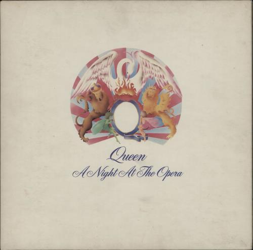 Queen A Night At The Opera - 1st - VG/EX vinyl LP album (LP record) UK QUELPAN751485