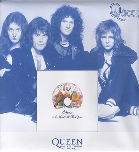 Queen A Night At The Opera - 30th Anniversary Collectors Edition vinyl LP album (LP record) UK QUELPAN341647
