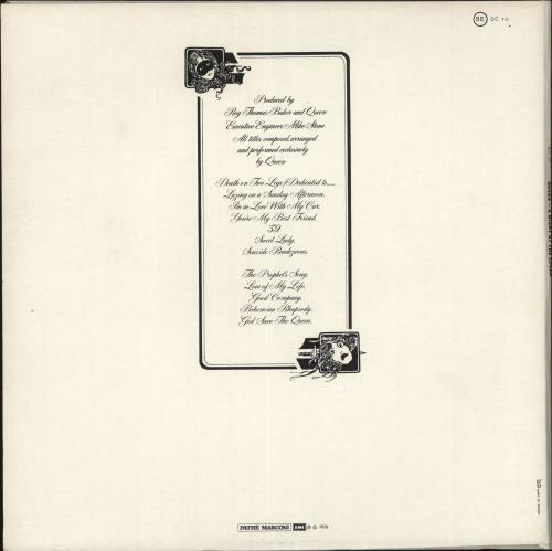 Queen A Night At The Opera - White Vinyl vinyl LP album (LP record) French QUELPAN696931
