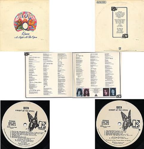 Queen A Night At The Opera Us Promo Vinyl Lp Album Lp