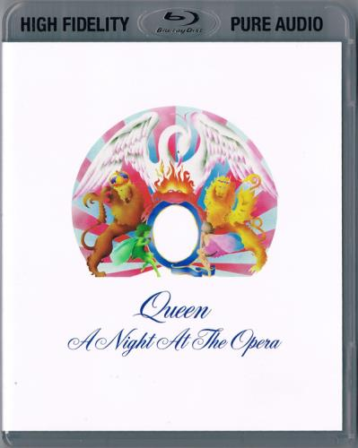 Queen A Night At The Opera Blu Ray Audio UK QUEABAN772746