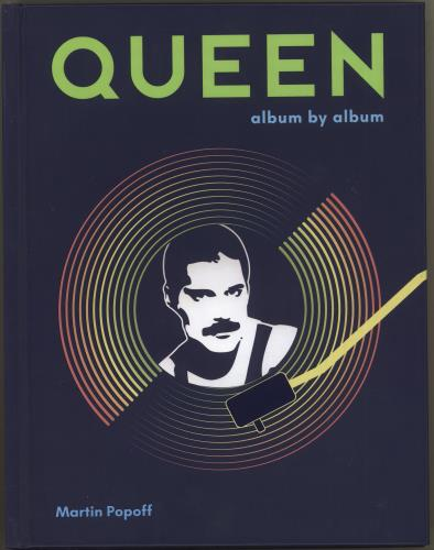 Queen Album By Album book US QUEBKAL717158