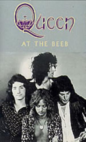 Queen At The Beeb cassette album UK QUECLAT282771