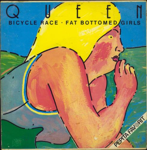 "Queen Bicycle Race - EX 7"" vinyl single (7 inch record) Hungarian QUE07BI219226"