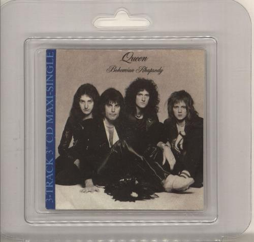 "Queen Bohemian Rhapsody + Blister Pack 3"" CD single (CD3) UK QUEC3BO748289"