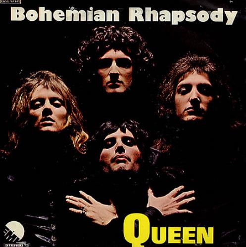 Image result for queen bohemian rhapsody single images