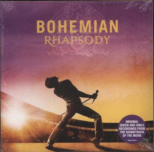 Queen Bohemian Rhapsody OST - 180gm Vinyl - Sealed 2-LP vinyl record set (Double Album) UK QUE2LBO713874