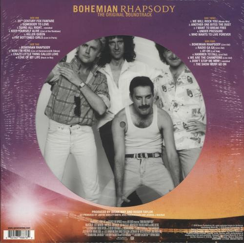 Queen Bohemian Rhapsody OST - RSD19 - Sealed picture disc LP (vinyl picture disc album) UK QUEPDBO718542