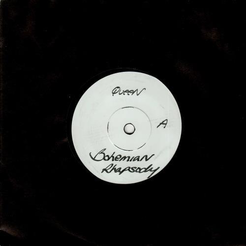 "Queen Bohemian Rhapsody 7"" vinyl single (7 inch record) UK QUE07BO18306"
