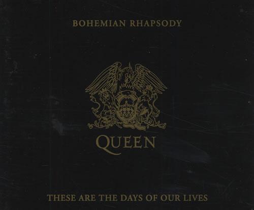 "Queen Bohemian Rhapsody CD single (CD5 / 5"") German QUEC5BO00308"